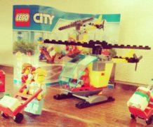 子供と一緒に「レゴ (LEGO) シティ 空港スタートセット 60100」を作ってみた