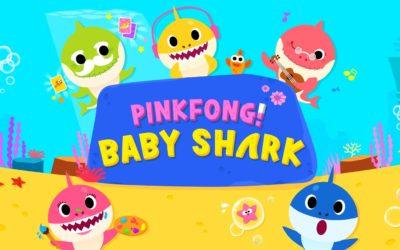 耳に残る歌ベビーシャーク(Baby Shark)「トゥトゥルルル」の動画は子どもが大好き!